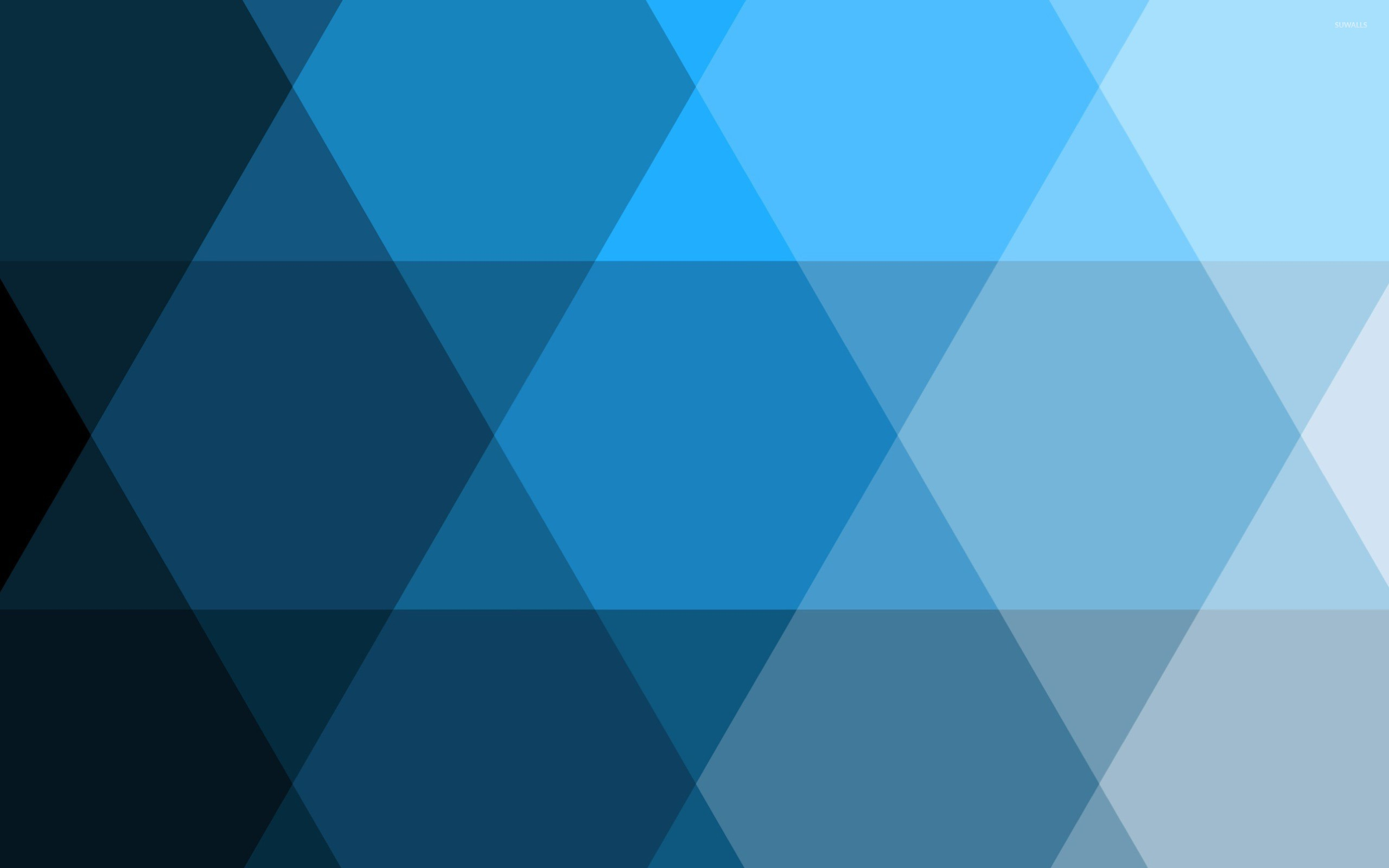 blue geometric wallpaper minimalistic - photo #10