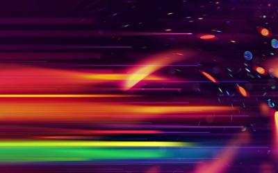Blurry lights [3] wallpaper