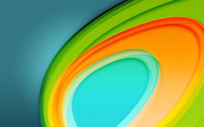 Bright curves wallpaper