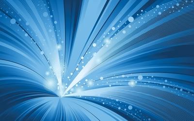 Bright light gathering in the vortex wallpaper