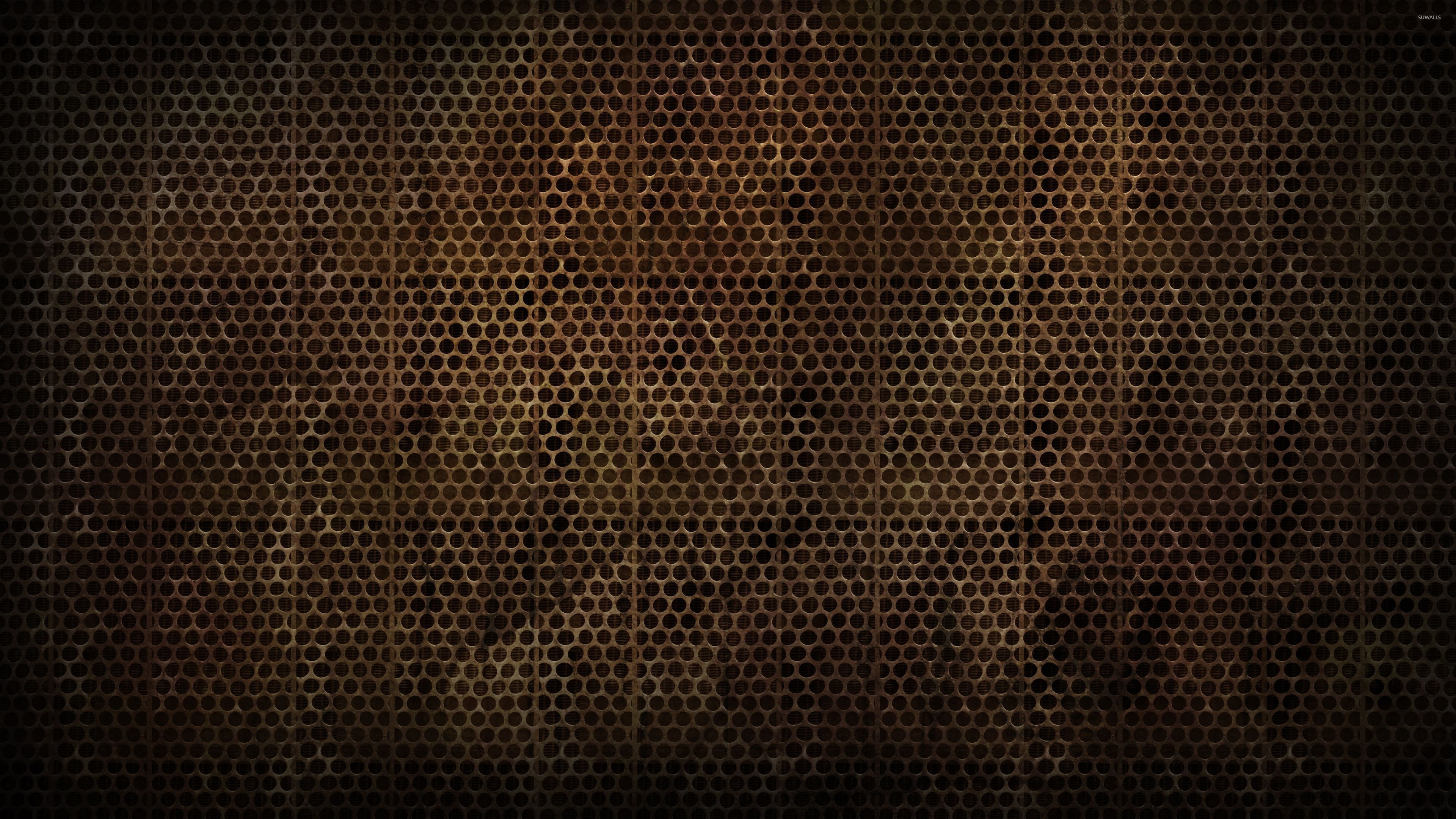 Brown metallic grid pattern wallpaper abstract for Metallic wallpaper