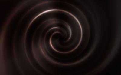 Chocolate vortex wallpaper