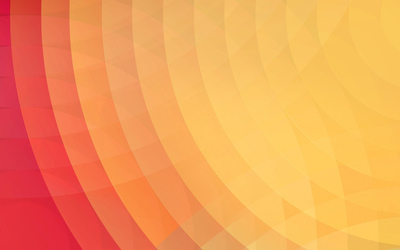 Circles merging their colors wallpaper
