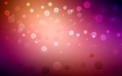 Circles on colorful blur Wallpaper