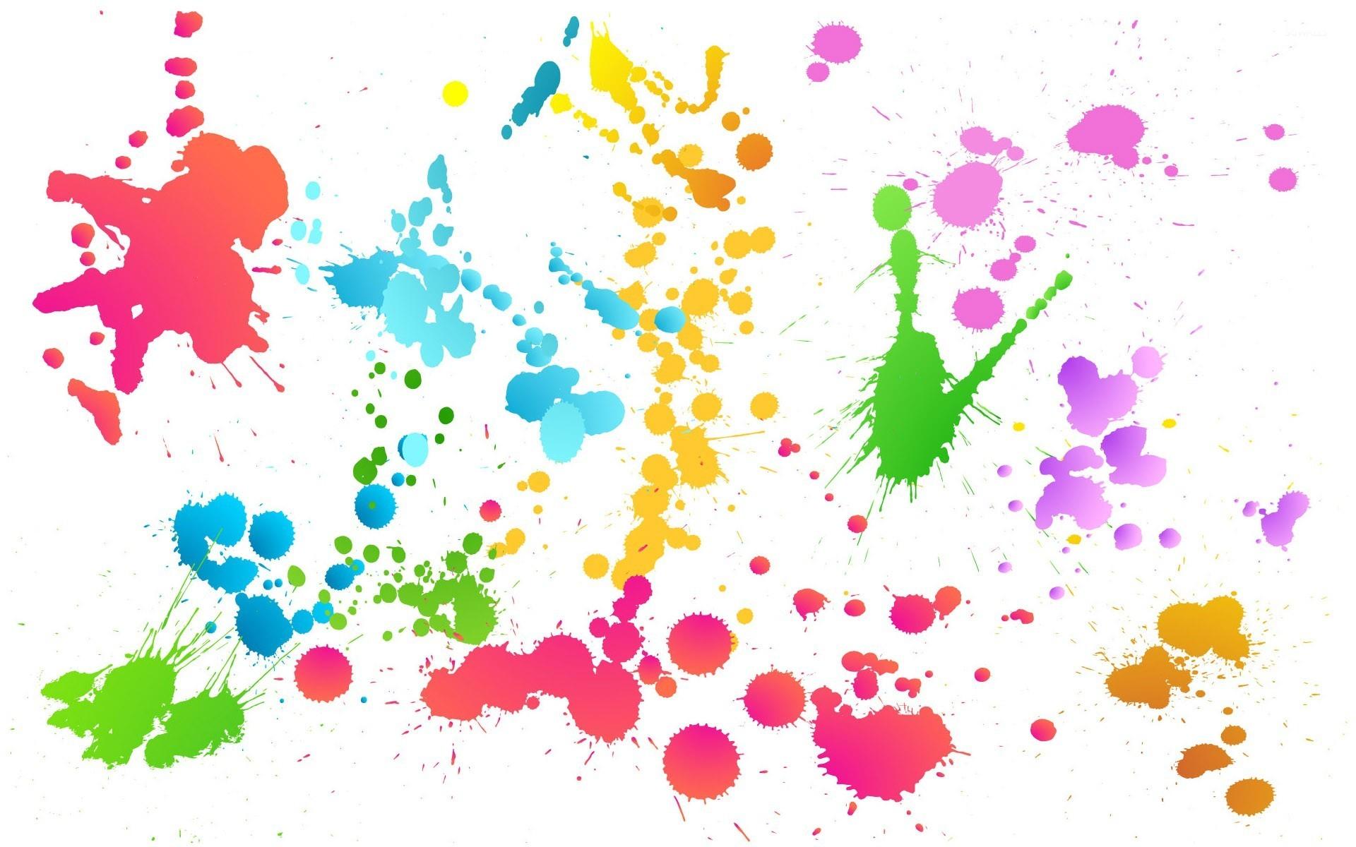 Color Splash 2 Wallpaper