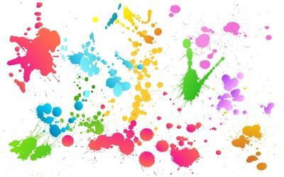Color splash [2] wallpaper