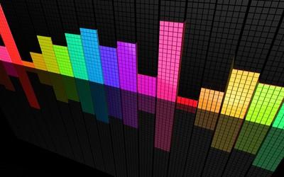Colorful bars wallpaper