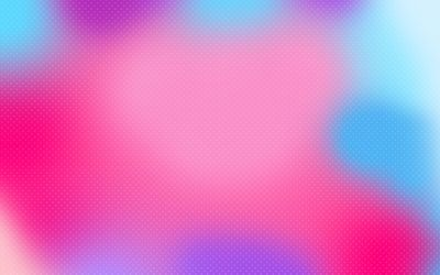 Colorful blur on white cross pattern wallpaper