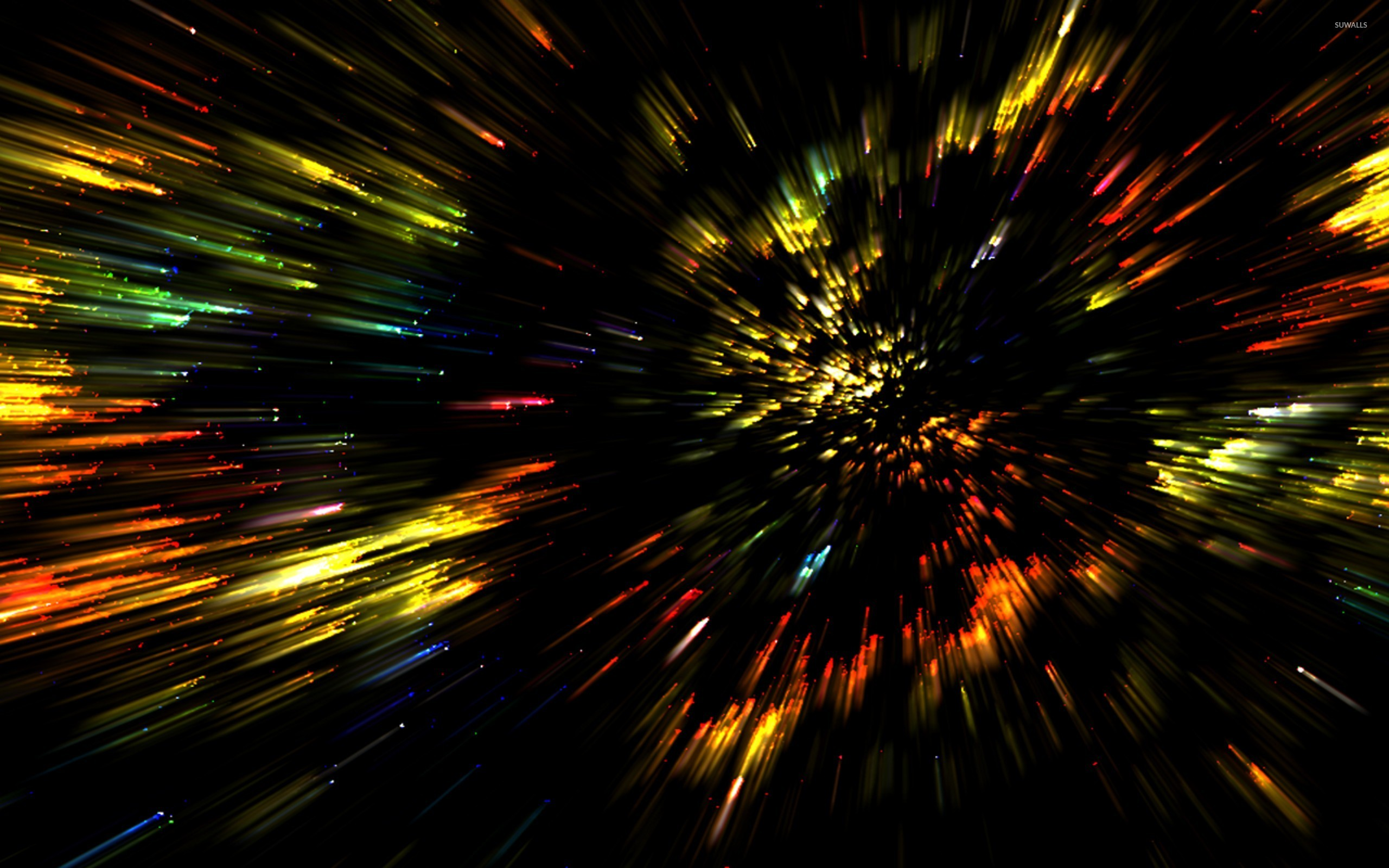Colorful Blurry Lights Wallpaper Abstract Wallpapers