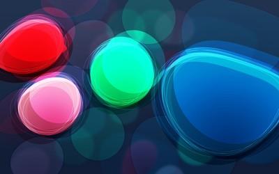Colorful bubbles [2] wallpaper