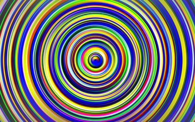 Colorful circles [3] wallpaper