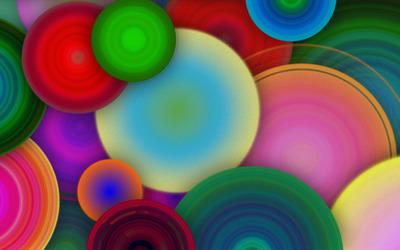 Colorful circles [2] wallpaper
