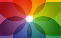 Colorful circles wallpaper 1920x1200 jpg