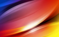 Colorful curves glowing wallpaper 2560x1600 jpg