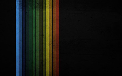 Colorful fabric stripes wallpaper