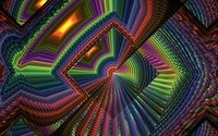 Colorful fractal squares wallpaper 1920x1200 jpg