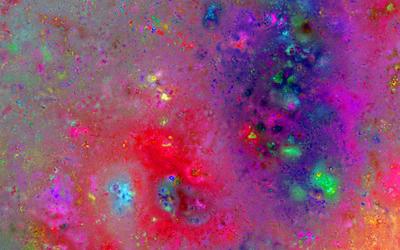 Colorful paint splash [2] wallpaper