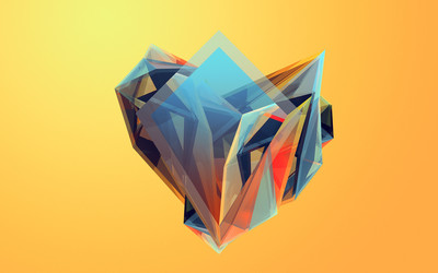 Colorful shapes [7] wallpaper
