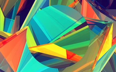 Colorful shapes [4] wallpaper