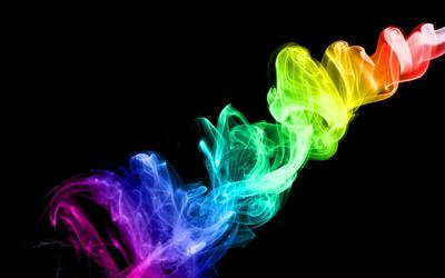 Colorful smoke [3] wallpaper