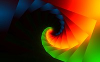 Colorful spiral wallpaper 1920x1200 jpg