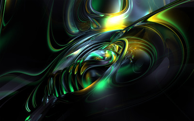 Colorful swirl wallpaper