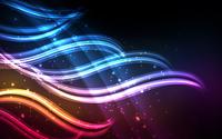 Colorful waves [2] wallpaper 1920x1200 jpg