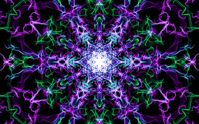 Complex star wallpaper