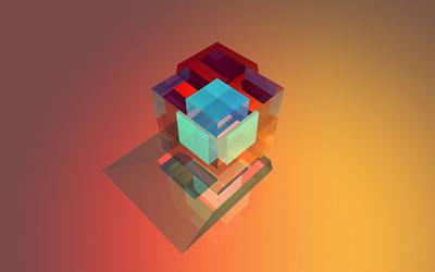 Cube [7] wallpaper