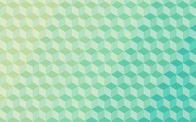Cube pattern wallpaper