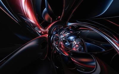 Dark curves wallpaper