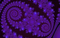 Dark purple fractal waves wallpaper 1920x1200 jpg