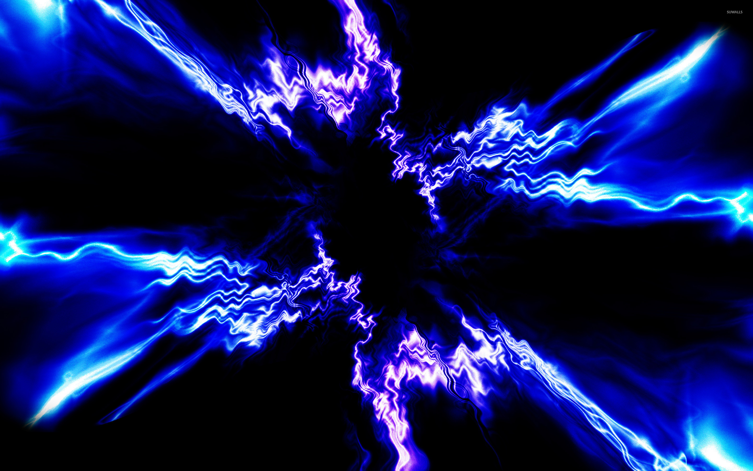 electric waves wallpaper abstract wallpapers 25919