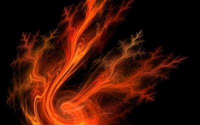 Flames [4] wallpaper