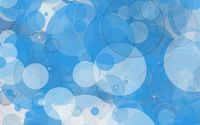 Floating blue circles wallpaper 1920x1080 jpg
