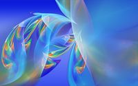 Flowing colorful feathers wallpaper 1920x1200 jpg