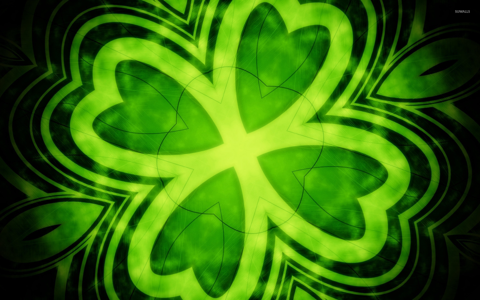 four leaf clover wallpaper abstract wallpapers 14202
