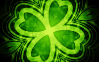 Four leaf clover wallpaper 1920x1200 jpg