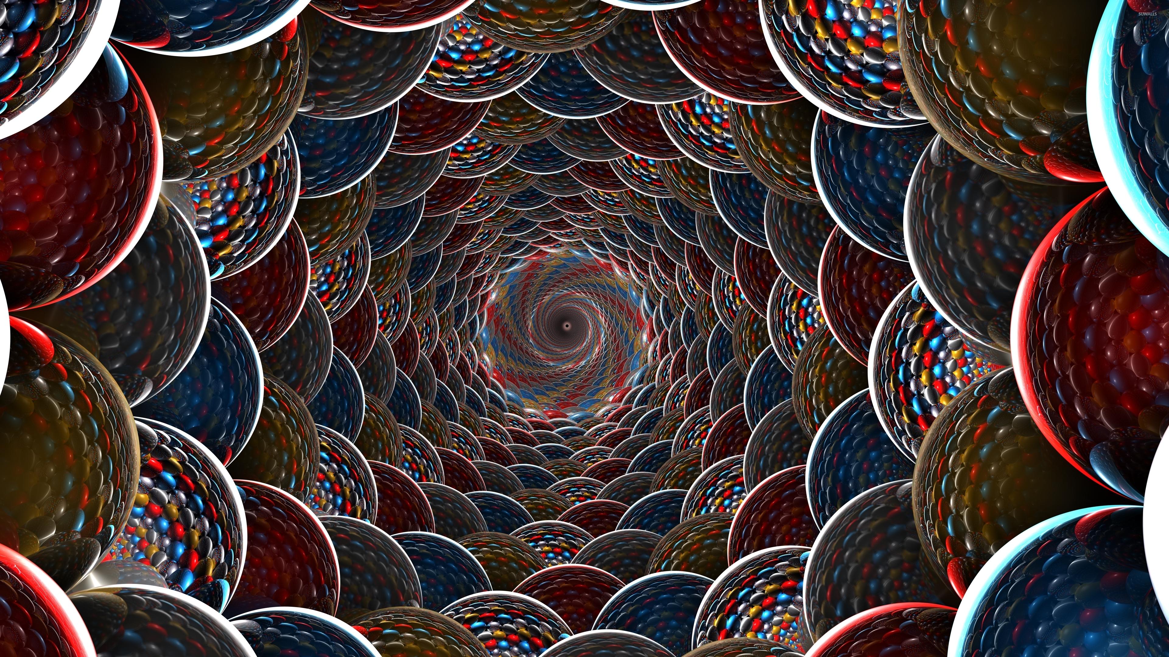 Wallpaper download abyss - Fractal Balls Abyss Wallpaper