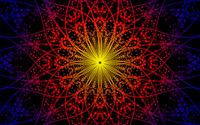 Fractal circles wallpaper 2880x1800 jpg