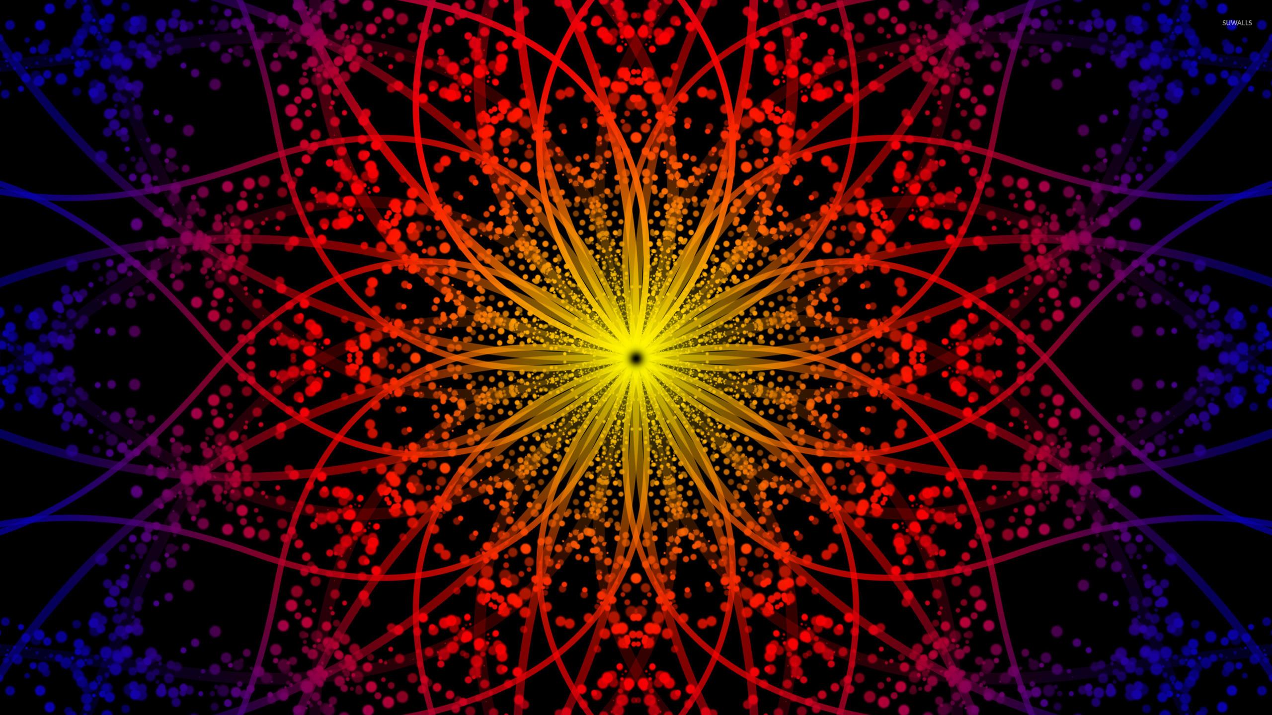 fractal circles wallpaper abstract wallpapers 26455
