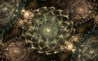 Fractal circles wallpaper 1920x1080 jpg