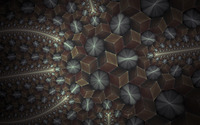 Fractal cube design wallpaper 1920x1080 jpg