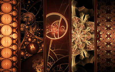 Fractal designs wallpaper