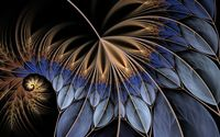 Fractal feather wallpaper 1920x1200 jpg