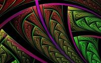 Fractal feather [2] wallpaper 1920x1200 jpg