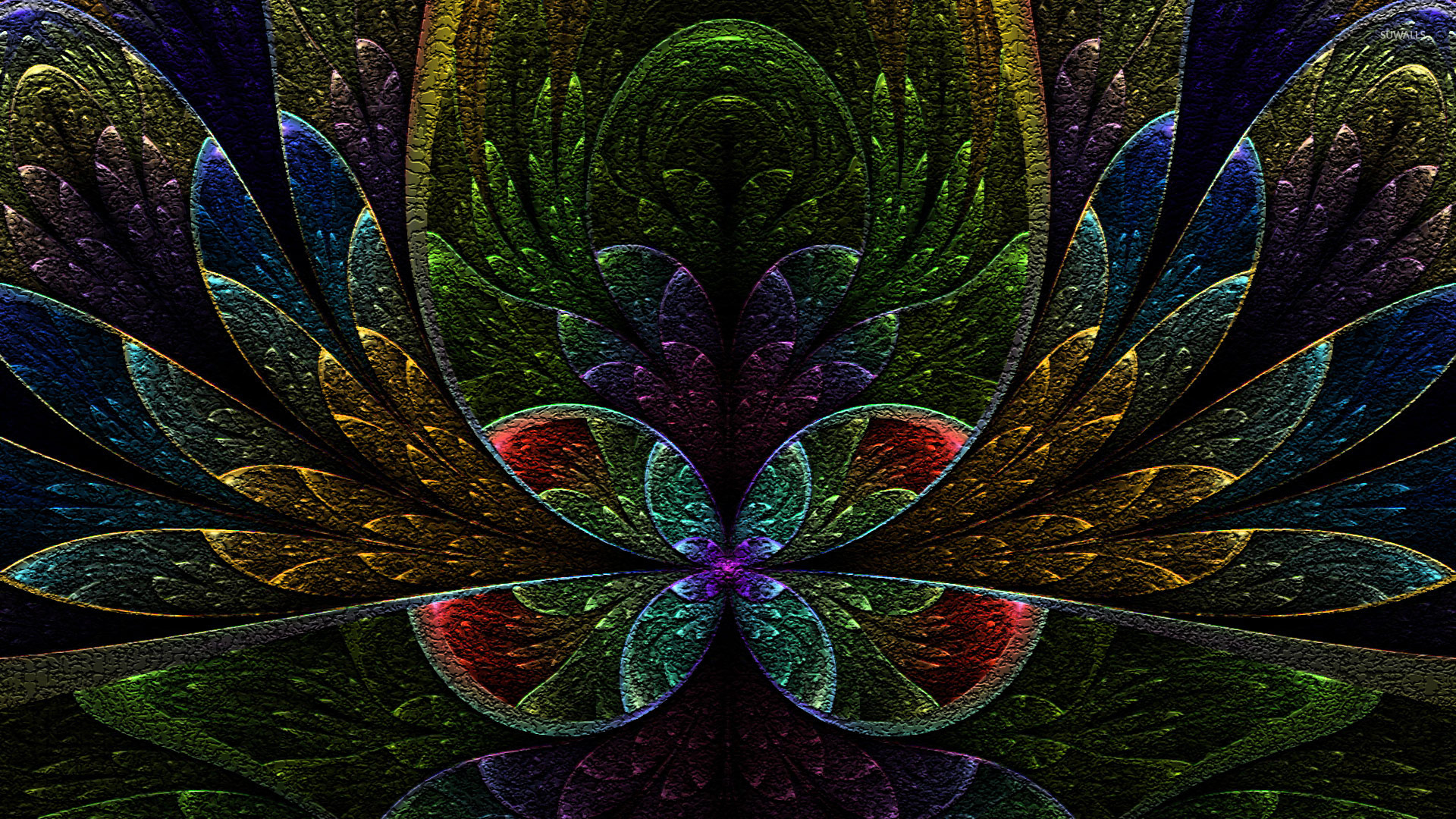 top fractal wallpapers floral - photo #41
