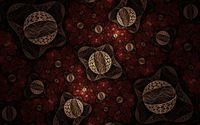 Fractal lace spheres wallpaper 1920x1200 jpg