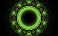 Fractal orb design wallpaper 1920x1200 jpg