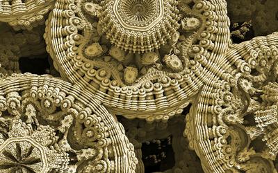 Fractal orbs [4] wallpaper